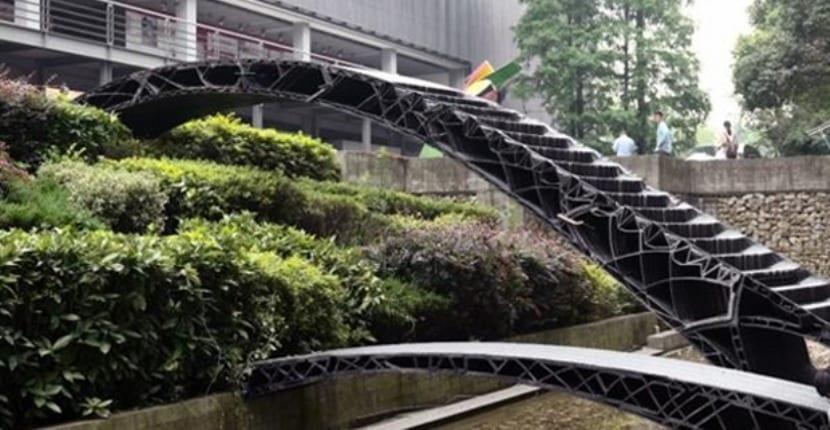 puente por impresión 3D