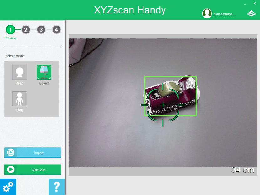 XYZScan Handy