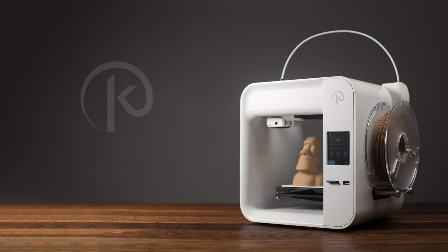 impresora 3D hackeada