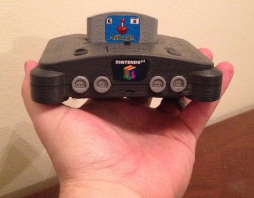 Carcasa de Nintendo64