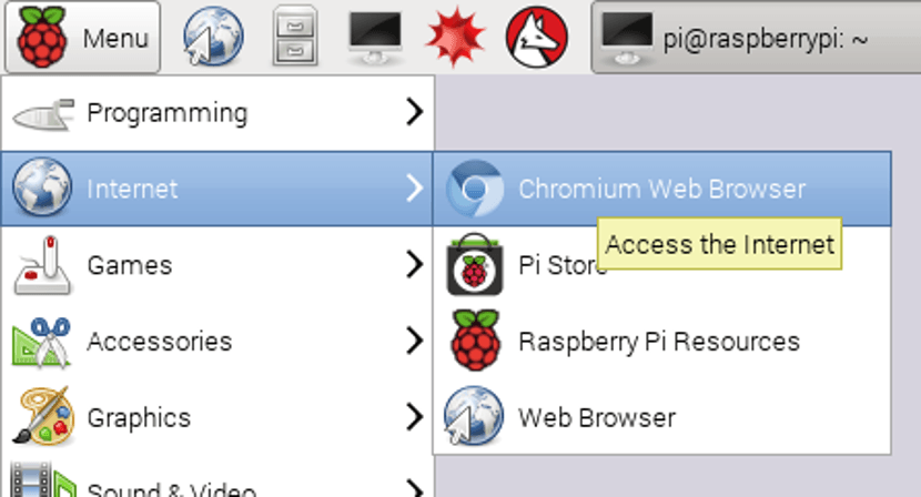 Chromium en Raspberry Pi