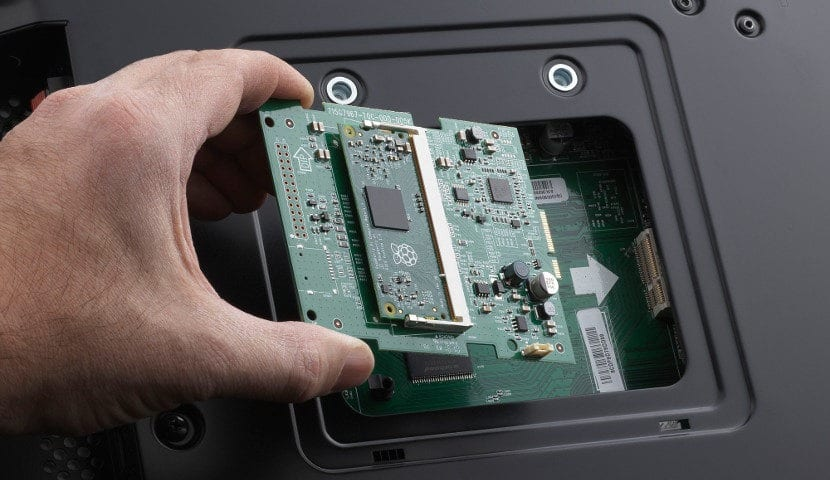 NEC y Raspberry Pi Compute Module