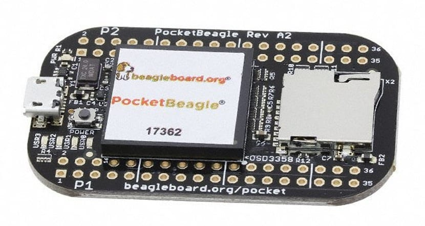 PocketBeagle de BeagleBoard