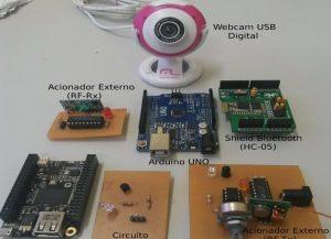 componentes del control remoto
