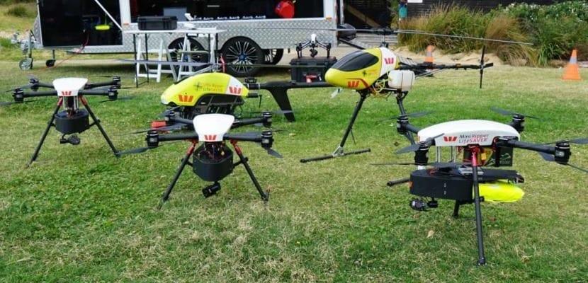 dron para tiburones
