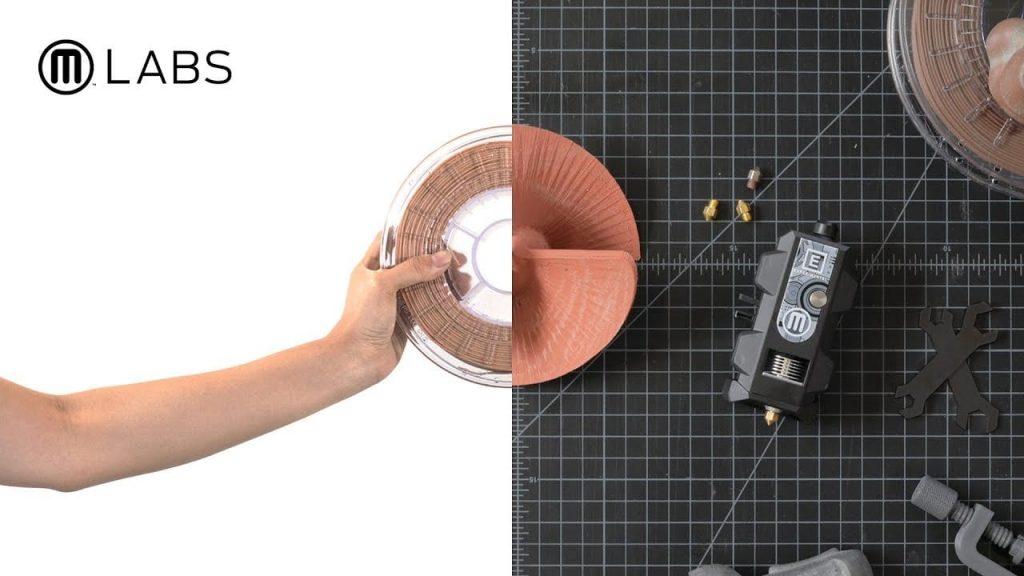 Imagen corporativa de Makerbot Labs