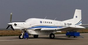 avión no tripulado comercial