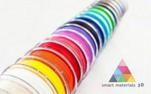 Filamentos de Smart materials 3D