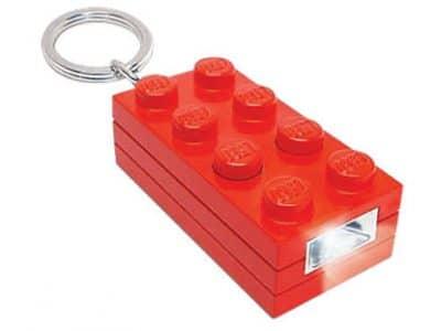 Linterna realizada con una pieza de Lego
