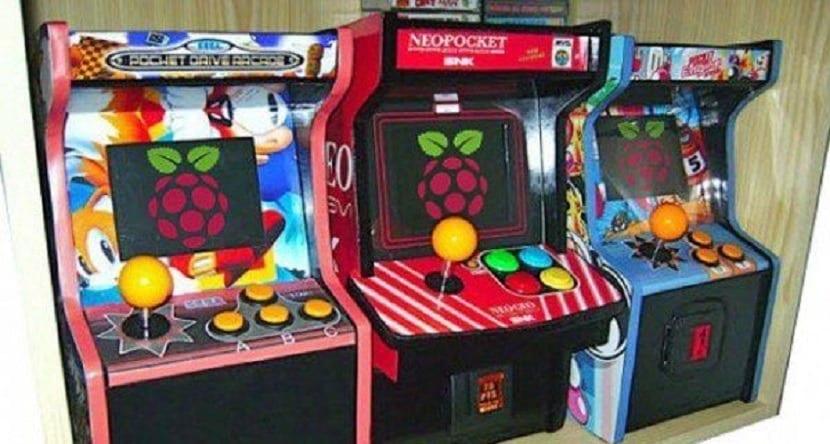ejemplo de máquina arcade