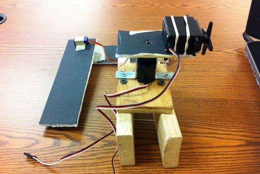 Base del brazo robótico