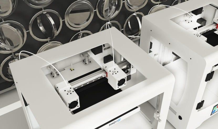 Extrusores de la impresora 3D Tresdpro R1