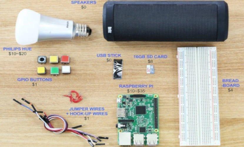 Componentes que necesitamos para construir jukebox