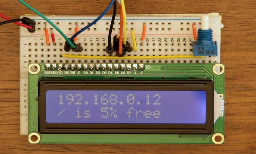 Controlador Hitachi HD44780 con LCD para Arduino