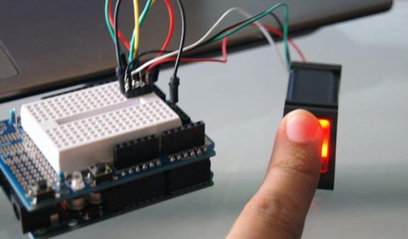 Sensor de huella para arduino