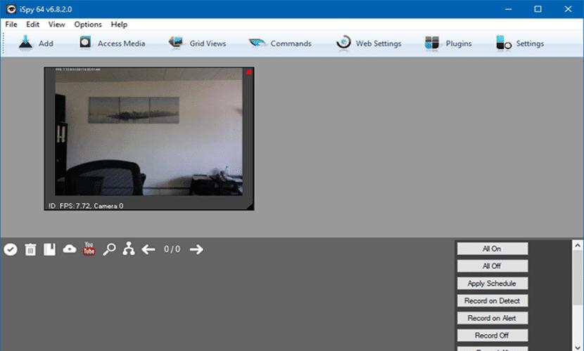 Captura de pantalla de iSpy