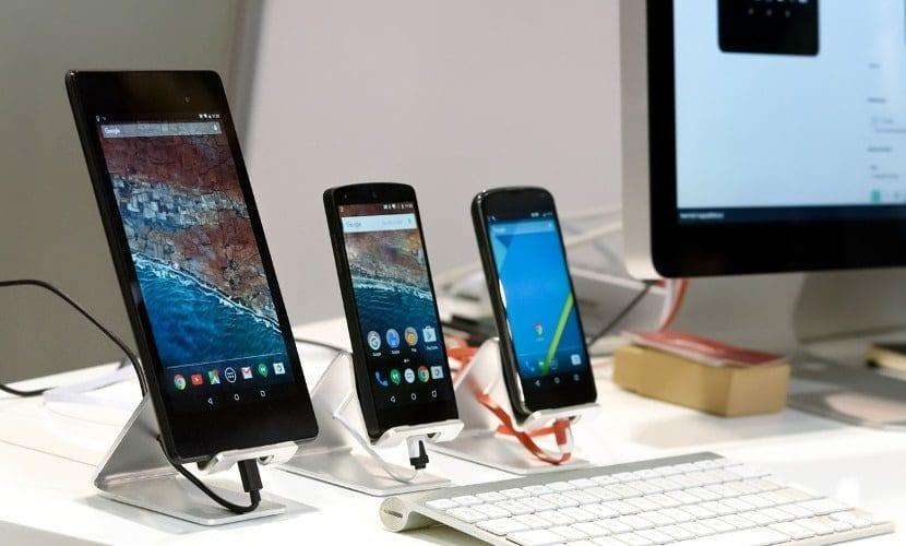 viejos smartphones con Android