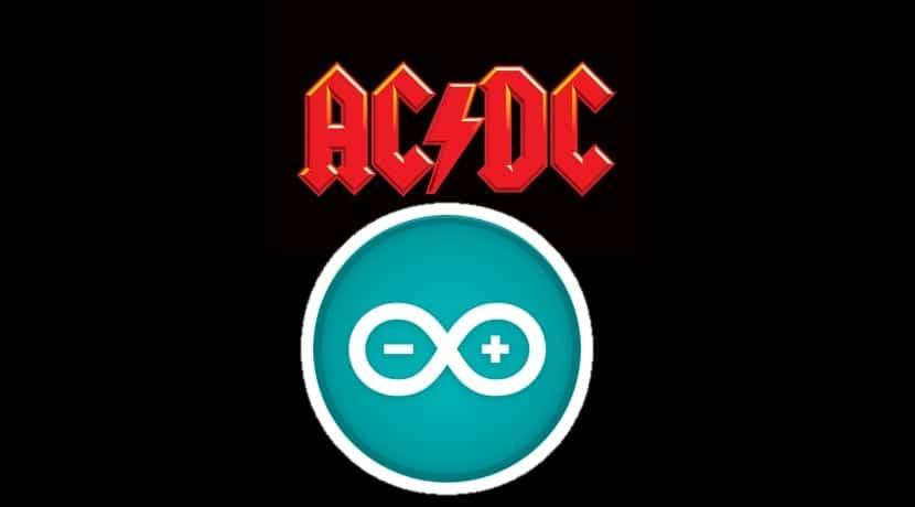 Logos AC/DC y Arduino