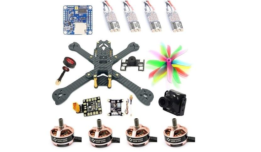 Kit para drone de carreras