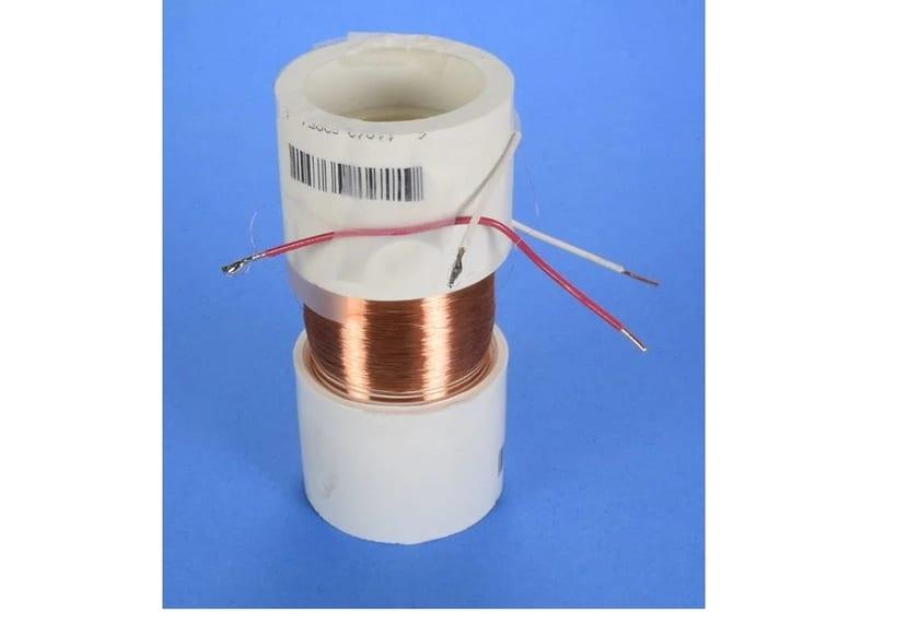 Bobina de hilo de cobre