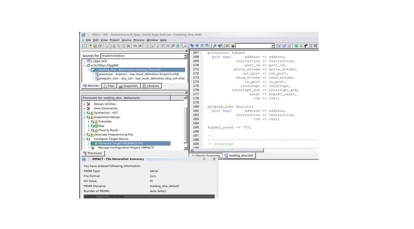 IDE para programar FPGA