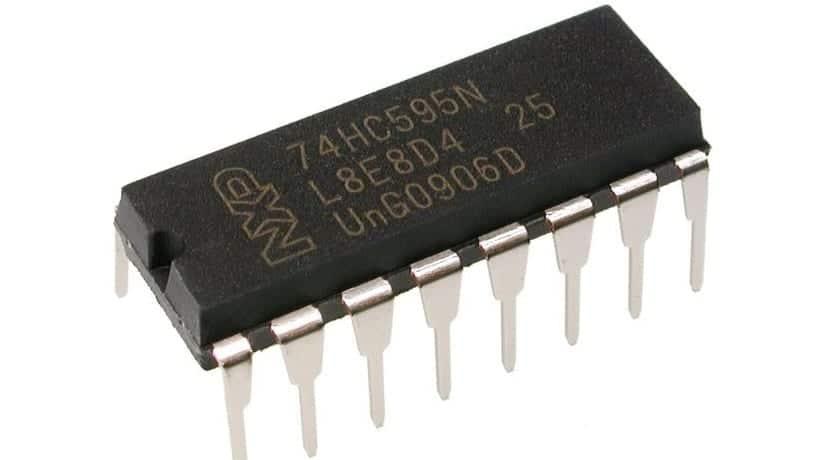 74HC595 chip