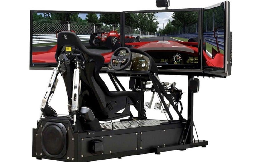 simulador de coches profesional
