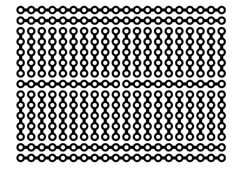 conexiones de protoboard