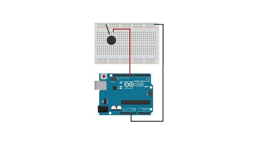 Zumbador o buzzer conectado a Arduino