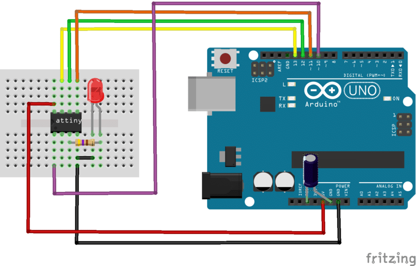 Arduino y ATtiny85