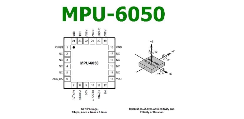Datasheet MPU6050
