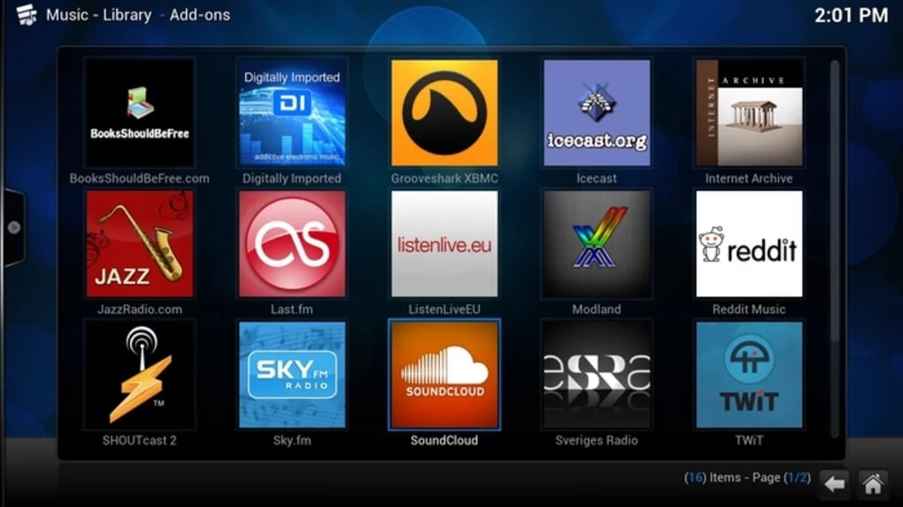 Kodi en Windows
