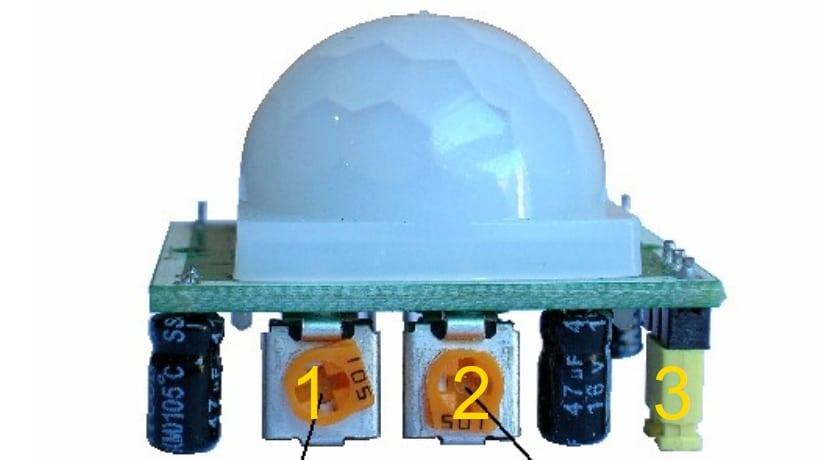 HC-SR501 controles