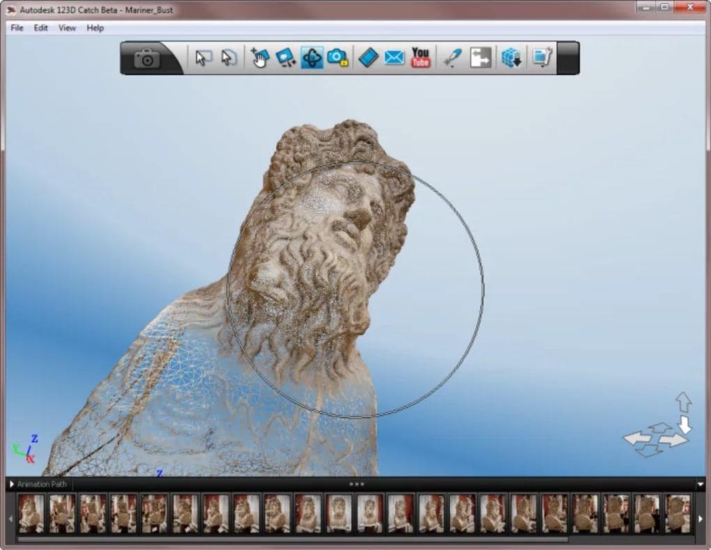 Autodesk 123D catch, programas para impresión 3D