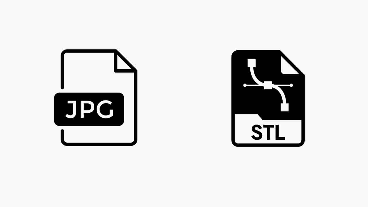 JPG a STL convertir online