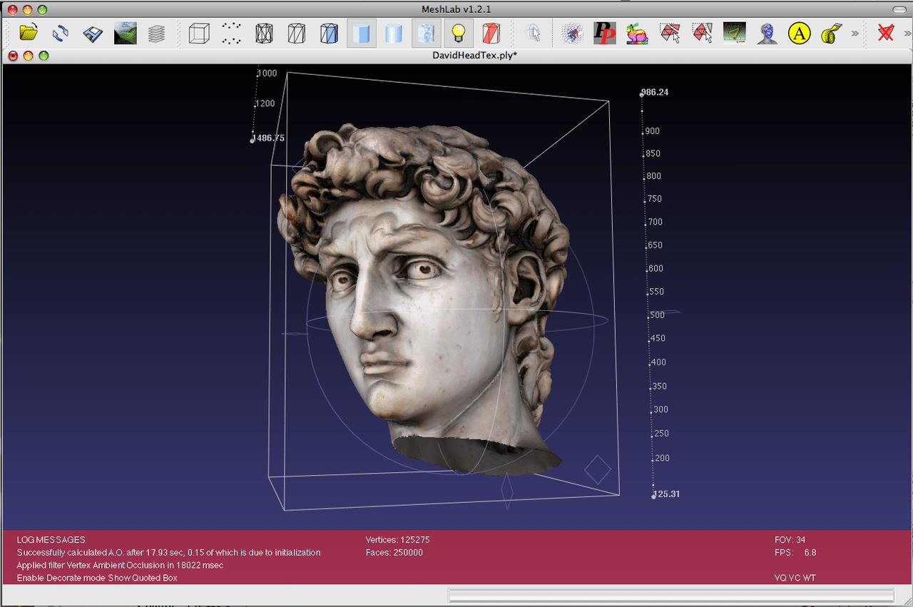 Meshlab, mejores programas de impresión 3D