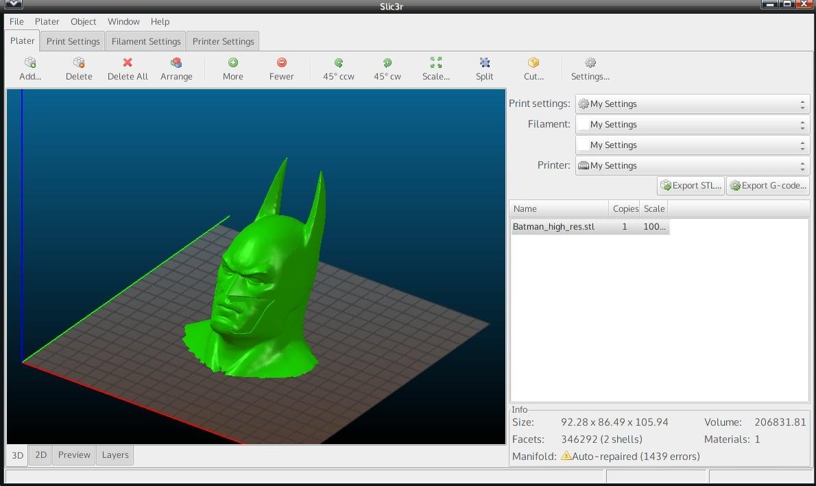 programas de impresión 3D