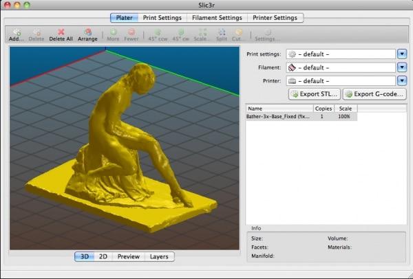 Slic3r mejores programas de impresión 3D