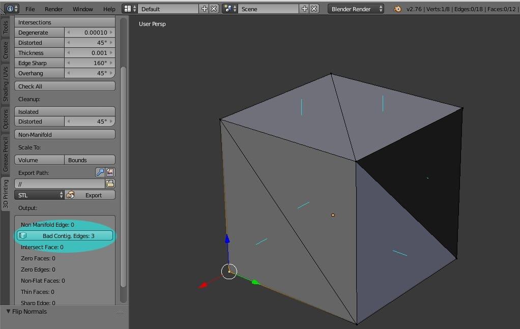 STL, modelo 3D