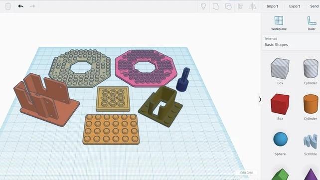 TinkerCAD, mejores programas impresión 3D