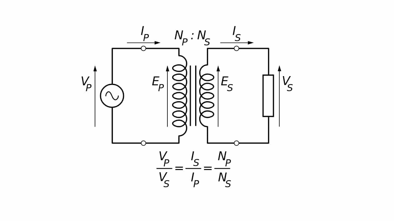 transformador diagrama