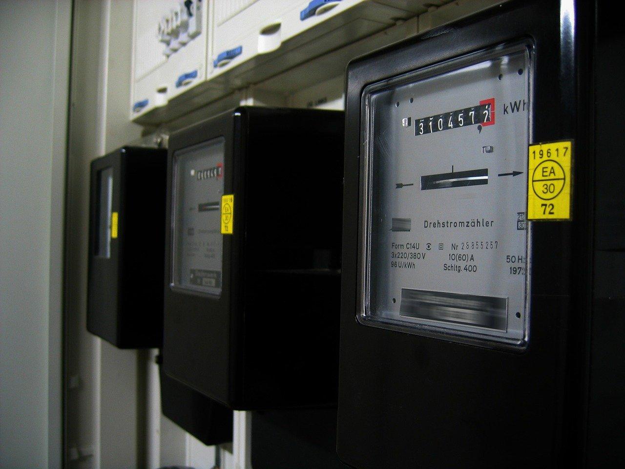 contador eléctrico, consumo