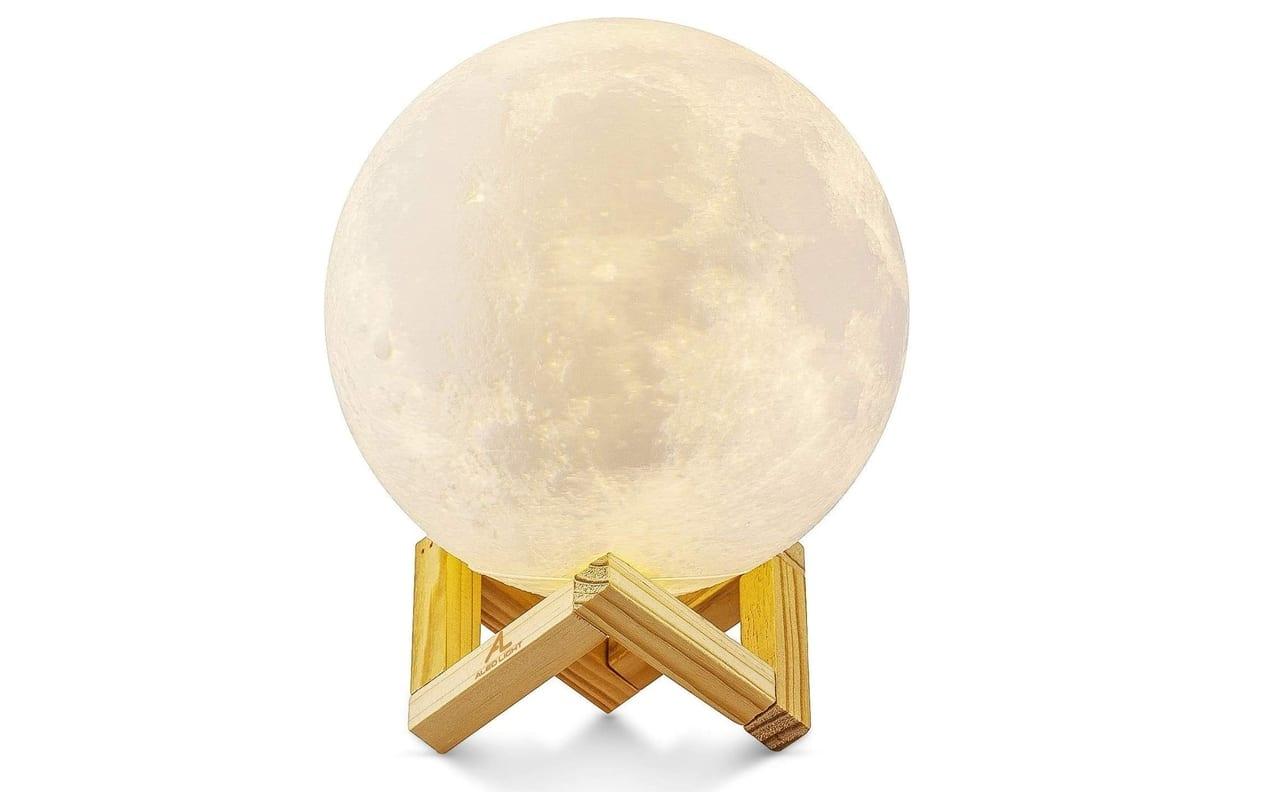 litofanía, luna-lámpara