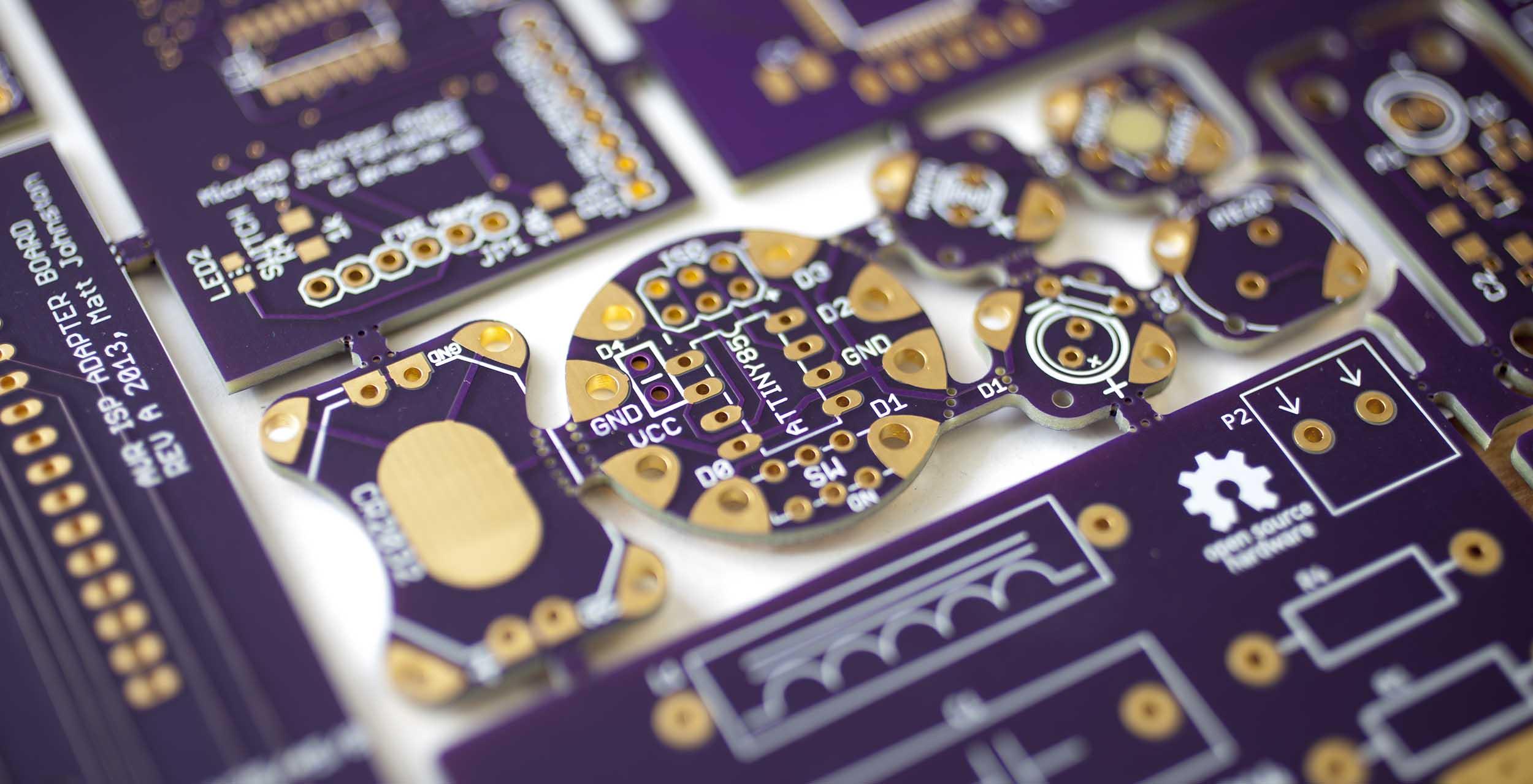 OSHPARK diseño PCB