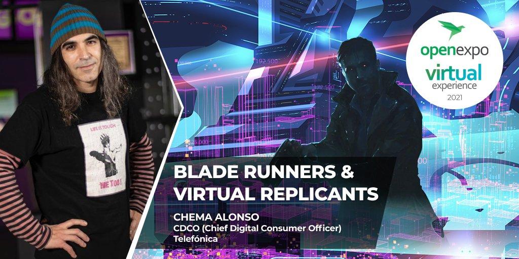 Chema Alonso en OpenEXPO Virtual Experience 2021