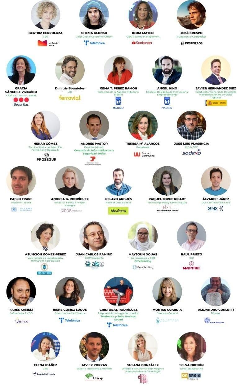 ponentes OpenExpo 8ª edición