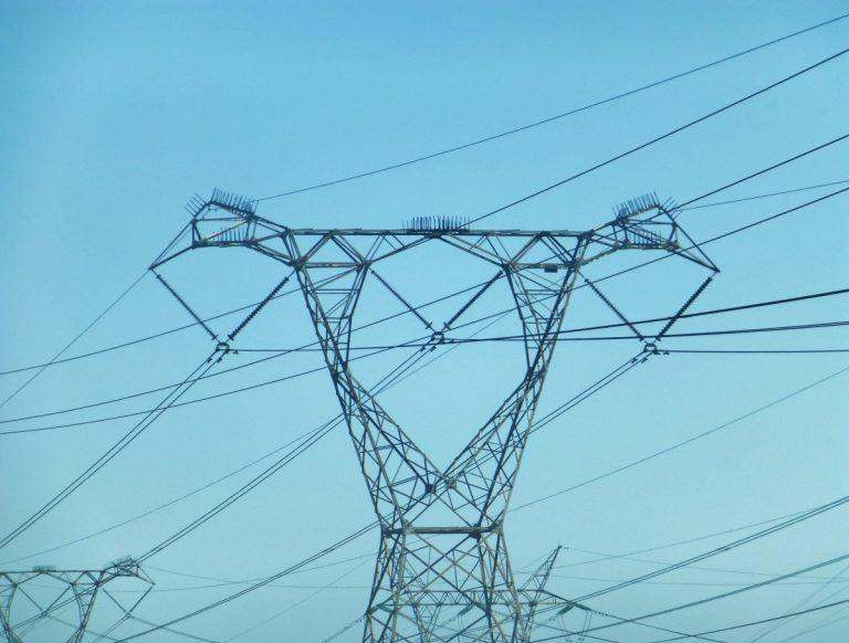 corriente, torre eléctrica